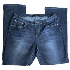 Cato Blue Jeans Classic Back Embellished Pockets 16W