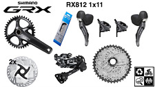 Shimano Grx group-set Rx812 level 1x11 (mechanical shift / hydro brake)