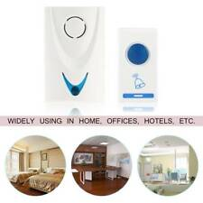 Wireles Remote Control 32Tune Songs & LED Wireless Chime Door Bell Doorbell New
