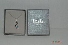 "Zales Jewelers~18""~Sterling~925~Love Infinity Pendant~Blue Topaz~Brand New~Box"