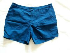 The North Face Women's Shorts, 14, dark turquoise, stow pocket, NWOT