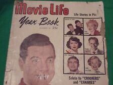 vintage magazine  movie life year book #14-1951 mario lanza marten & lewis ava g
