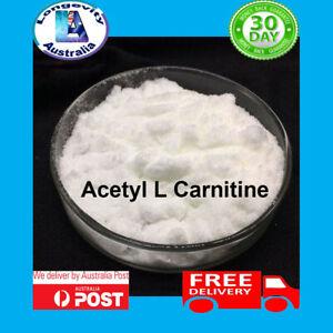 ACETYL L CARNITINE POWDER - WEIGHT LOSS - FAT BURNER - ALCAR 25 50 100 200 GRAMS