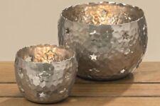 Deko-Kerzenständer & -Teelichthalter mit Stern mittlerer Teelichter