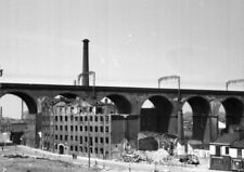 PHOTO  LMS EX LNWR STOCKPORT VIADUCT IN 1967