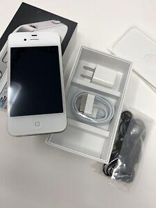 Apple iPhone 4 - 8GB - White (Sprint) A1387 (CDMA)