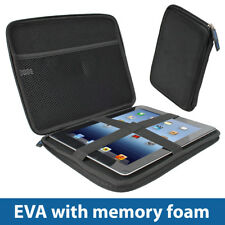 Black EVA Hard Case Cover for Apple iPad 2 3 4 Retina, iPad Air, Air 2 & Pro 9.7