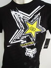 FOX RACING ROCKSTAR Mens Premium Top T-shirt Tee Size M L XL XXL black elwood