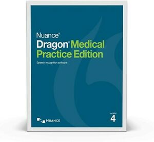 Nuance Dragon Medical Practice Edition 4 Speech Recognition Licence Only