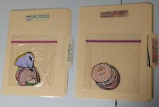 lot of 2 root word & suffix elementary file folder games laminated mint conditio