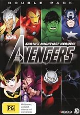 The Avengers - Earth's Mightiest Heroes (DVD, 2015, 2-Disc Set) Region 4