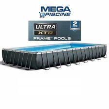Piscina Rettangolare INTEX 26374 Ultra Metal 975 x 488 x 132 cm MODELLO 2020 !!!