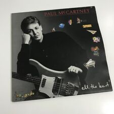 PAUL McCARTNEY 'ALL THE BEST'  Double LP's Aus Exclnt - PCSO 74850 BEATLES ROCK