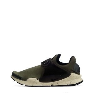 Nike Sock Dart Men's Casual Gym Trainers Shoes Khaki/Black