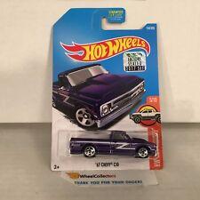'67 Chevy C10 #158 * Purple * 2017 Hot Wheels FACTORY SET Edition