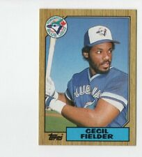 1987 Topps s Baseball Card #178 Cecil Fielder Toronto Blue Jays