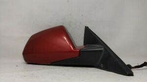 2008-2014 Cadillac Cts Passenger Right Side View Power Door Mirror Red 81545