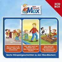 MAX - MAX-3-CD HÖRSPIELBOX  3 CD NEU