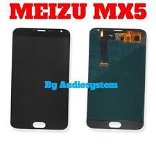 GLS 24H DISPLAY LCD+TOUCH SCREEN per MEIZU MX5 M575H VETRO NERO RICAMBIO NUOVO