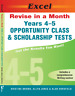NEW Excel Revise in a Month Year4-5 Opportunity Class&Scholarship Tests Free shi