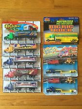 highway haulers Diecast semi diesel advertising trucks construction tractor gas