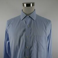 Brooks Brothers Mens Non Iron Traditional Fit LS Button Up Light Blue Shirt 16.5