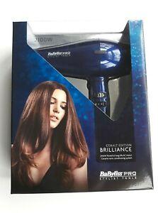 BaByliss PRO Cobalt Edition Brilliance 2100W Blue Hairdryer (long life AC motor)