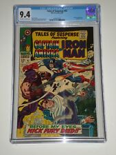 Tales of Suspense 92 (Aug 1967, Marvel) CGC 9.4 Avengers, Nick Fury Cameos
