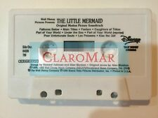 ☀DISNEY The Little Mermaid Original Soundtrack Movie Alan Menken Cassette Tape