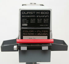 Vergrößerer DURST M600 Enlarger 6x6 Mittelformat Rodenstock Trinar 1:4,5 f=50mm