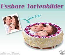 Muffinaufleger Fototorte Name Bild Muffins Tortenaufleger Deko essbar Backen