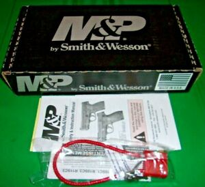 M&P, Smith & Wesson Factory Box, Lock & Manual, 9 mm Model HDR3239 - Excellent!!