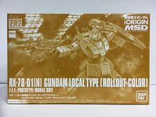 Premium Bandai Hg 1/144 Rx-78-01 [N] Gundam Local Type Rollout Color Origin Msd