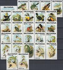 Guyana Birds 1990 MNH-70 Euro