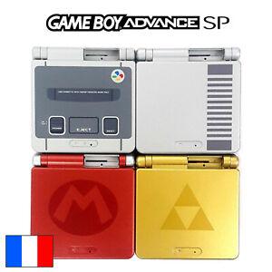 Coque GAME BOY ADVANCE SP Nintendo GBA Remplacement Ecran Shell SNES NES Zelda