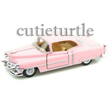 Kinsmart 1953 Cadillac Series 62 Coupe 1:43 Diecast Toy Car Pink