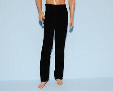 CLASSY!  Black Velvet Feel Slacks Pants for KEN Genuine BARBIE