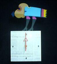 Frank Slabbinck  Art Sculpture Colors of life  'Blue Lady Clock 523974