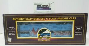 MTH NEEDHAM PACKING COMPANY O SCALE REFRIGERATOR CAR MT-9401L -- NEW