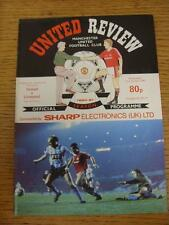 31/10/1990 Manchester United v Liverpool [Football League Cup] . Item in very go