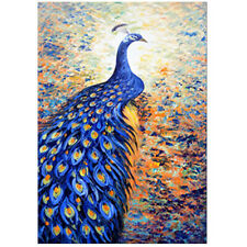 1000 Pieces Blue Peacock Jigsaw Puzzles For Adult Kids Learning Education Gifts