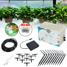 Automatic Drip Irrigation System Kit Plant Auto Timer Self Watering Hose