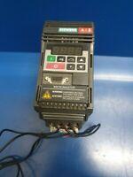 6SE9212-7DA40 Siemens MicroMaster 1.5 HP VFD AC Drive Inverter 6SE92127DA40
