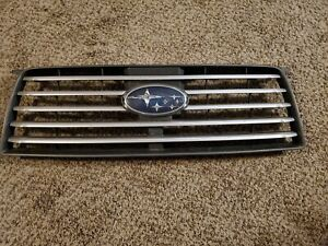 2006 2007 2008 SUBARU FORESTER FRONT GRILLE OEM