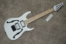 Ibanez Paul Gilbert Signature PGM miKro Electric Guitar PGMM31-WH F-hole Paint