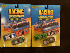 2 Sets Of Vintage 1990 Road Champs Racing Demons. New On Card