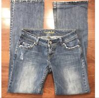 AEO American Eagle Outfitters Women's Distressed Jeans Size 4 Stretch Denim