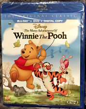The Many Adventures of Winnie the Pooh (Blu-ray + DVD + Digital) ***NEW***