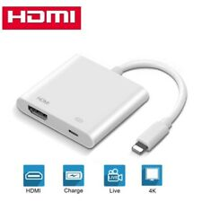 HDMI Mirroring Adapter Cable Phone to TV HDTV For iPhone 11 Pro Max X 6 7 8 Plus