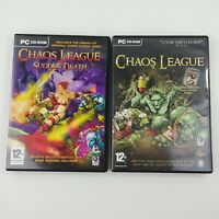 Chaos League PC CD-Rom Game Lot - Original + Sudden Death League Game